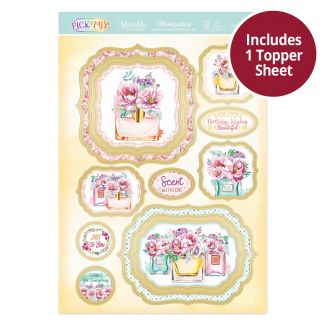 Pick 'N' Mix Topper Sheet - Scent with Love