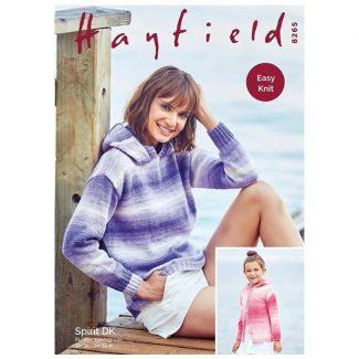 Hayfield Spirit Pattern - Sweater or Jacket