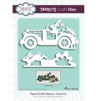 Paper Cuts 3D Collection - Classic Car