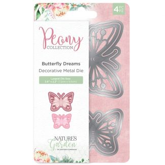 Peony Collection - Metal Die - Butterfly Dreams