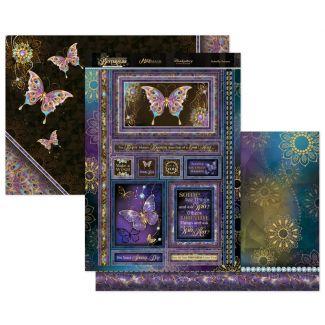 Midnight Butterflies - Butterfly Dreams Topper Set