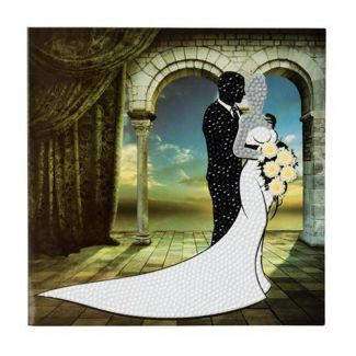 Crystal Card Kit - Wedding Couple
