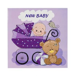 Crystal Card Kit - New Baby