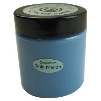 Phill Martin Cosmic Shimmer Crackle Paste - Denim Blue