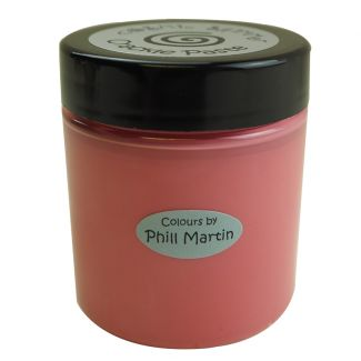 Phill Martin Cosmic Shimmer Crackle Paste - Ruby Red