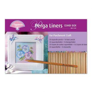 Perga Liners x 20 watercolour pencils