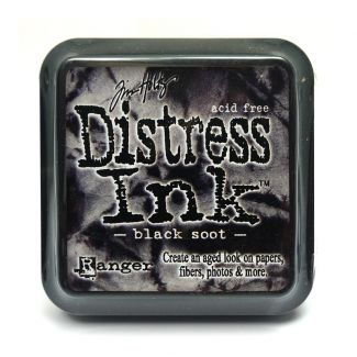 Mini Distress Pads - Black Soot