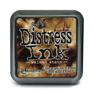 Mini Distress Pads - Walnut Stain