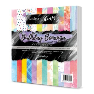 "Birthday Bonanza 8"" x 8"" Stamping Pad"
