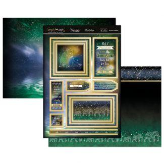Written in the Stars Topper Set - Aurora Borealis