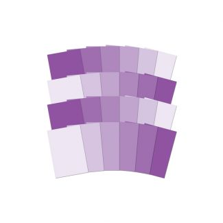 Adorable Scorable Colour Family - Purple