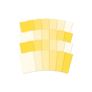 Adorable Scorable Colour Family - Yellow