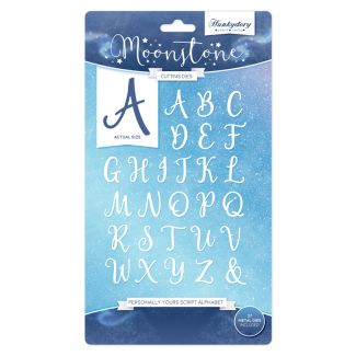 Personally Yours Script Alphabet Die Set