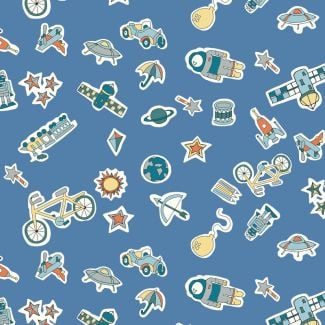 Liberty Fabric - Fat Quarter - Treasures in the Sky