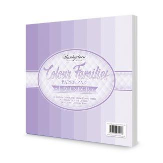 Colour Families Paper Pad - Lavender
