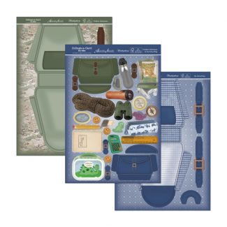 Collage-a-Card Set - Outdoor Adventures & My School Bag