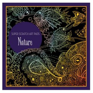 Nature Scratch Art Pad