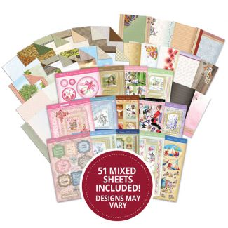 Mega Mixed Toppers, Cardstock, Inserts & Papers Supersaver