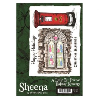 Sheena - A6 Xmas Stamp - Holiday Blessings