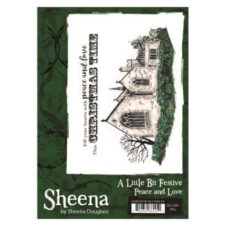 Sheena - A6 Xmas Stamp - Peace and Love