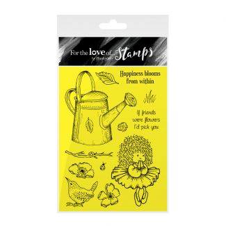 Garden Secrets Clear Stamps Selection - Happiness Blooms