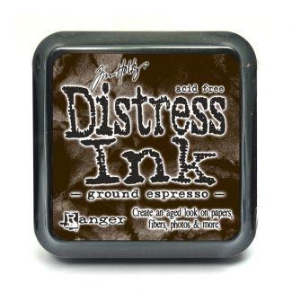 Mini Distress Pads - Ground Espresso