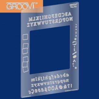 Groovi Plate Mate - Alphabet