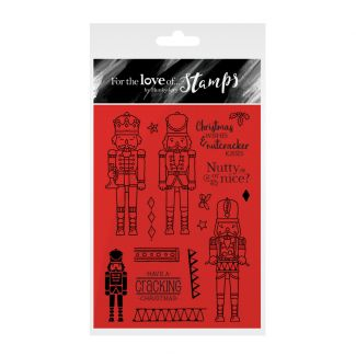 For the Love of Stamps - Nutcracker Kisses