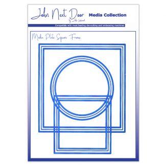 John Next Door Media Dies - Media Plate Square Frame
