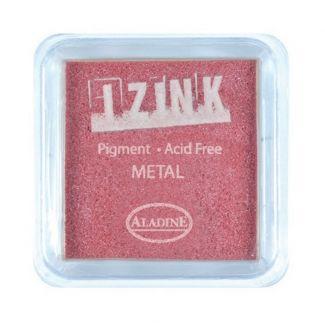 Metal Red Izink 5cm Pigment Ink Pad