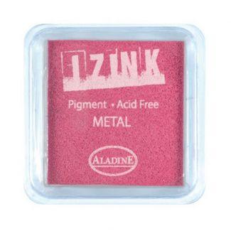 Metal Pink Izink 5cm Pigment Ink Pad