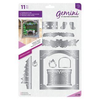 """Gemini Die - Create-a-Card - Yuletide Treasure x 11 dies (Largest die 5"""" x 5"""")"""