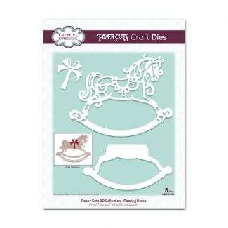 Paper Cuts 3D Collection Rocking Horse