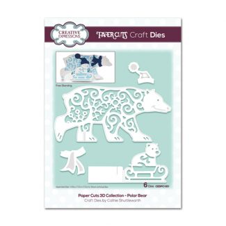 Paper Cuts 3D Collection Polar Bear