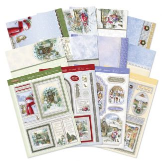 Footprints in the Snow Deluxe Card Collection