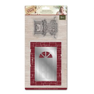 A Winters Tale - Folder Die and Stamp - Home for Christmas