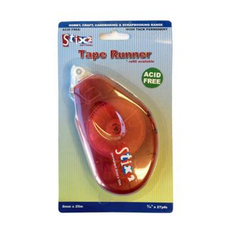 Stix2 Tape Runner 8mm x 25m