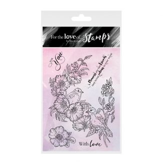 For the Love of Stamps: Amongst the Roses