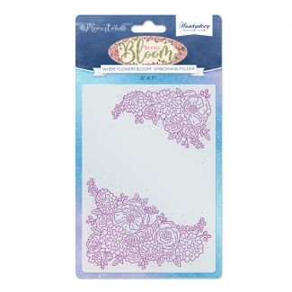 Where Flowers Bloom Moonstone Embossing Folder