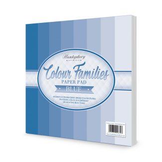 Colour Families Paper Pad - Blue