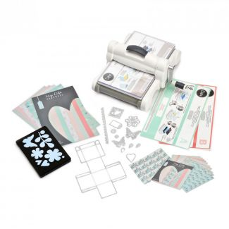 Big Shot Plus Starter Kit with  My Life Handmade Card & Fabric