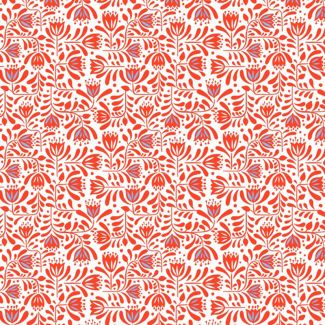Lewis & Irene - Fat Quarters - Red Hann's floral