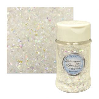 Diamond Sparkles Speciality Pot - Soft Snowdrift 100ml