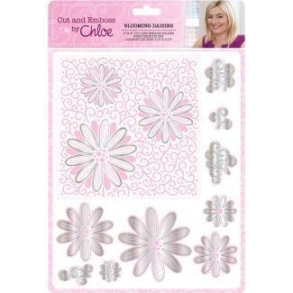Cut and Emboss by Chloe - Blooming Daisies