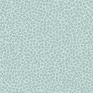 Lewis & Irene - Fat Quarter - Two-tone Tulip on light blue