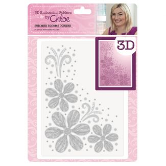 3D Embossing Folder by Chloe - Summer Blooms Corner