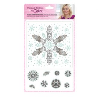 Cut and Emboss by Chloe - Sparkling Snowflake
