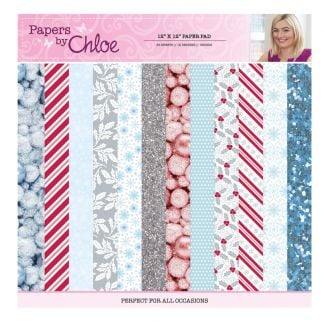 Papers by Chloe 12 x 12 Christmas Sparkle Designer Paper Pad