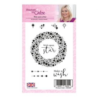 """Papers by Chloe Christmas Sparkle 6"""" x 6"""" Foiled Acetate"""