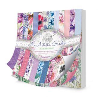 """An Artist's Garden 8"""" x 8"""" Paper Pad"""